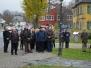 16.11.2014 Musikalischer Beitrag zum Volkstrauertag vor der St. Jakobuskirche in Oberkotzau